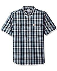Carhartt - Fort Plaid Short Sleeve Shirt - Lyst