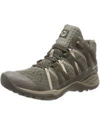 Merrell Siren Hex Q2 Mid E-mesh Gtx High Rise Hiking Boots - Green