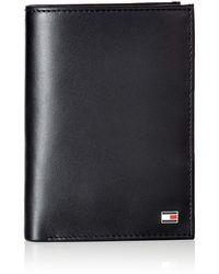 Tommy Hilfiger Eton N/s Wallet W/ Coin PockethommePortefeuillesNoir