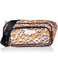 Ted Baker Niqila Leopard Detail Puffer Belt Bag - Yellow