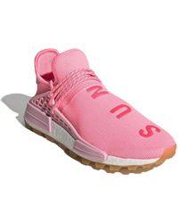 adidas X Pharrell Williams baskets Hu NMD PRD - Rose