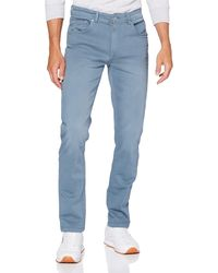 Springfield 5B Slim Wash Powr-Stretch-C/14 Pantalones - Azul