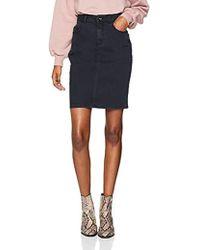 Vero Moda Vmhot Nine Hw DNM Pencil Skirt Color Jupe Femme