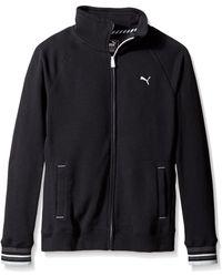 PUMA Sweat Jacket - Black