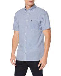 Tommy Hilfiger Classic Stripe Shirt S/s Sudadera - Azul