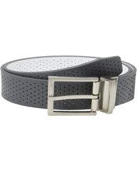 Nike G-flex Woven Stretch Golf Belt, White, 32