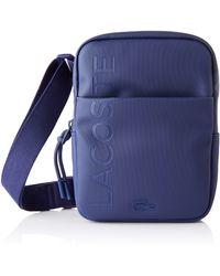 Lacoste Homme NH3136PO L.12.Concept Cabas et pochette Bleu