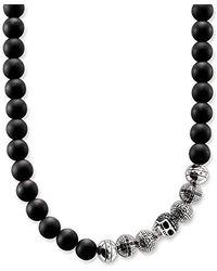 Thomas Sabo Collana di perle Uomo argento - KE1100-159-11-M - Metallizzato