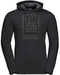 Jack Wolfskin 365 Hoodie - Black
