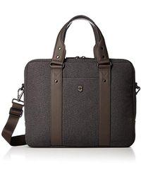Victorinox - Architecture Urban Bodmer 14 Laptop Briefcase - Lyst