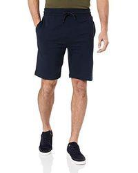 Tommy Hilfiger Pour des s Logo Sweat Shorts, Bleu