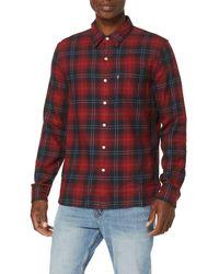 Levi's Sunset 1 Pocket Shirt Camisa - Rojo