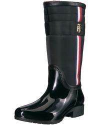 Tommy Hilfiger Froz Rain Boot - Black