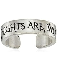 ALEX AND ANI - S Wrinkle In Time - Wild Nights Are My Glory Adjustable Ring - Lyst