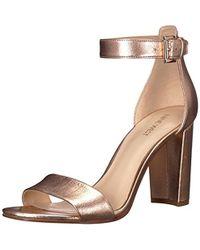 Nine West - Nora Metallic Dress Sandal - Lyst