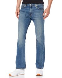 Levi's 527 Slim Boot Cut Vaqueros Corte de Bota para Hombre - Azul