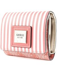 Guess Candace SLG Small Trifold Coral SLG Small Trifold - Rose
