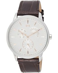 Tommy Hilfiger S Multi Dial Quartz Watch With Rose Gold Strap 1791506 - Metallic