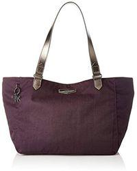 Kipling Lots Of Bag Henkeltasche, 52x28x18 cm - Lila
