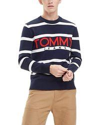 Tommy Hilfiger - Hilfiger Denim TJM Bold Logo Sweater Pullover - Lyst