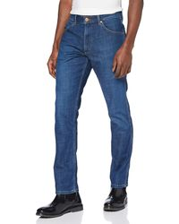 Wrangler Greensboro Jeans Straight - Blue