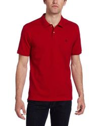 Victorinox - Vx Stretch Pique Polo, Ibach Red, Xx-large - Lyst