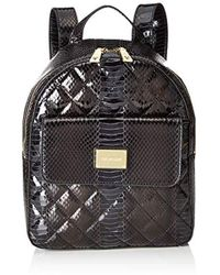 Love Moschino - Borsa Quilted Snake Pu, 's Backpack Handbag, Black (nero), 10x28x29 Cm (b X H T) - Lyst
