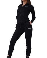 PUMA Hooded Sweat Suit Tuta Donna Nera 58366302 Nero S