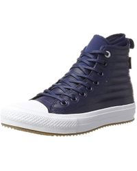 cacfb29036b Converse - Adults  Ctas Wp Boot Hi Midnight Navy wolf Grey Top Trainers -