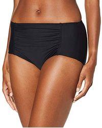 Esprit Ocean Beach Ay H.w.Brief Braguita de Bikini para Mujer - Negro