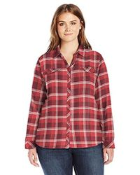 Columbia - Plus-size Simply Put Ii Plus Size Flannel Shirt - Lyst