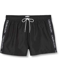 Calvin Klein Short Drawstring Boxer - Noir