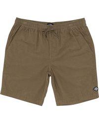 Billabong Corduroy Shorts - - L - Green