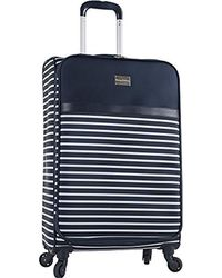 Diane von Furstenberg Tommy Bahama Cancun 20 Inch Expandable Spinner Suitcase - Blue