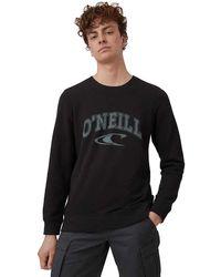 O'neill Sportswear LM State Crew Sweatshirt Maglia di Tuta - Nero