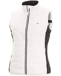 Calvin Klein 205w Padded Gilet White