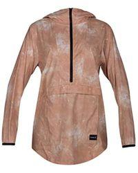 Hurley Pullover Hoodie Winbreaker Rain Jacket - Multicolor
