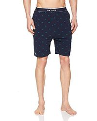 Lacoste Raml221, Pantalones de Pijama Hombre, Azul (Navy 410), Medium