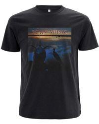Roxy Music T Shirt Avalon Band Logo Nue offiziell - Schwarz