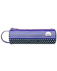 Roxy Off The Wall Pencil Cases, One Size - Blue