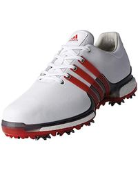 Adidas Leather Tour 360 Boost 2 0 Golf Shoe In Blue For Men Lyst