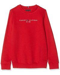 Tommy Hilfiger Sudadera para Niños - Rojo