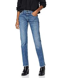Replay Joplyn Jeans Straight Donna - Blu