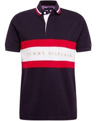 Tommy Hilfiger - Iconic Stripe Rugby Shirt - Lyst