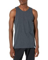 Russell Athletic Cotton Performance Tank Top - Black