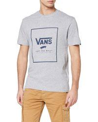 Vans Print Box T-shirt - Grey
