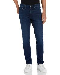 Goodthreads Jean Skinny Stretch Confortable - Gris