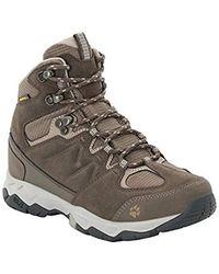 Jack Wolfskin Mtn Attack 6 Texapore Mid Waterproof Hiking Boot - Gray