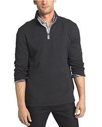 Izod - Spectator 1/4 Zip Sweater Fleece - Lyst