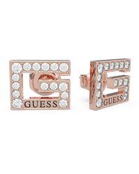 Guess G MULTI CHAIN ??Ohrringe UBE79114 pink IP Stahl - Mehrfarbig